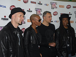 Skunk Anansie bei den Eska Music Awards 2011