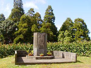 Pico Alto (Santa Maria) - The memorial dedicated to the crash of Independent Air Flight 1851