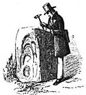 Warington Wilkinson Smyth - Carreg Pumsaint at Dolaucothi examined by Smyth