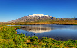 Snæfellsjökull in the Morning (7622876302).jpg