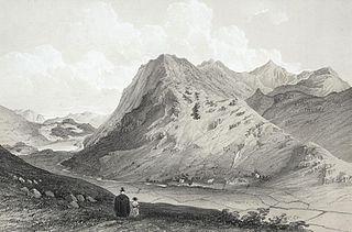 Snowdon & Llyn Gwynant, from the Beddgelert road