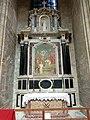 Soissons (02), cathédrale, collatéral nord du chœur, 1ère chapelle, autel et retable des saints Crépin et Crépinien 1.jpg