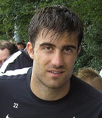 Sokratis Papastathopoulos - Papastathopoulos with Werder Bremen in 2012