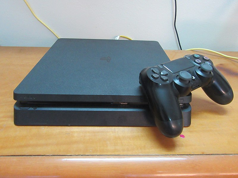 File:Sony PlayStation 4 Slim.jpg