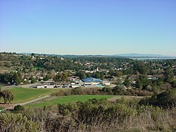 Soquel as seen from a hilltop in Anna Jean Cummings Park