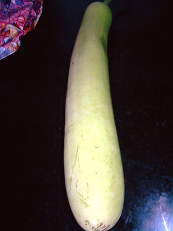 English: it is Calabash/ Bottle Gourd. its nam...