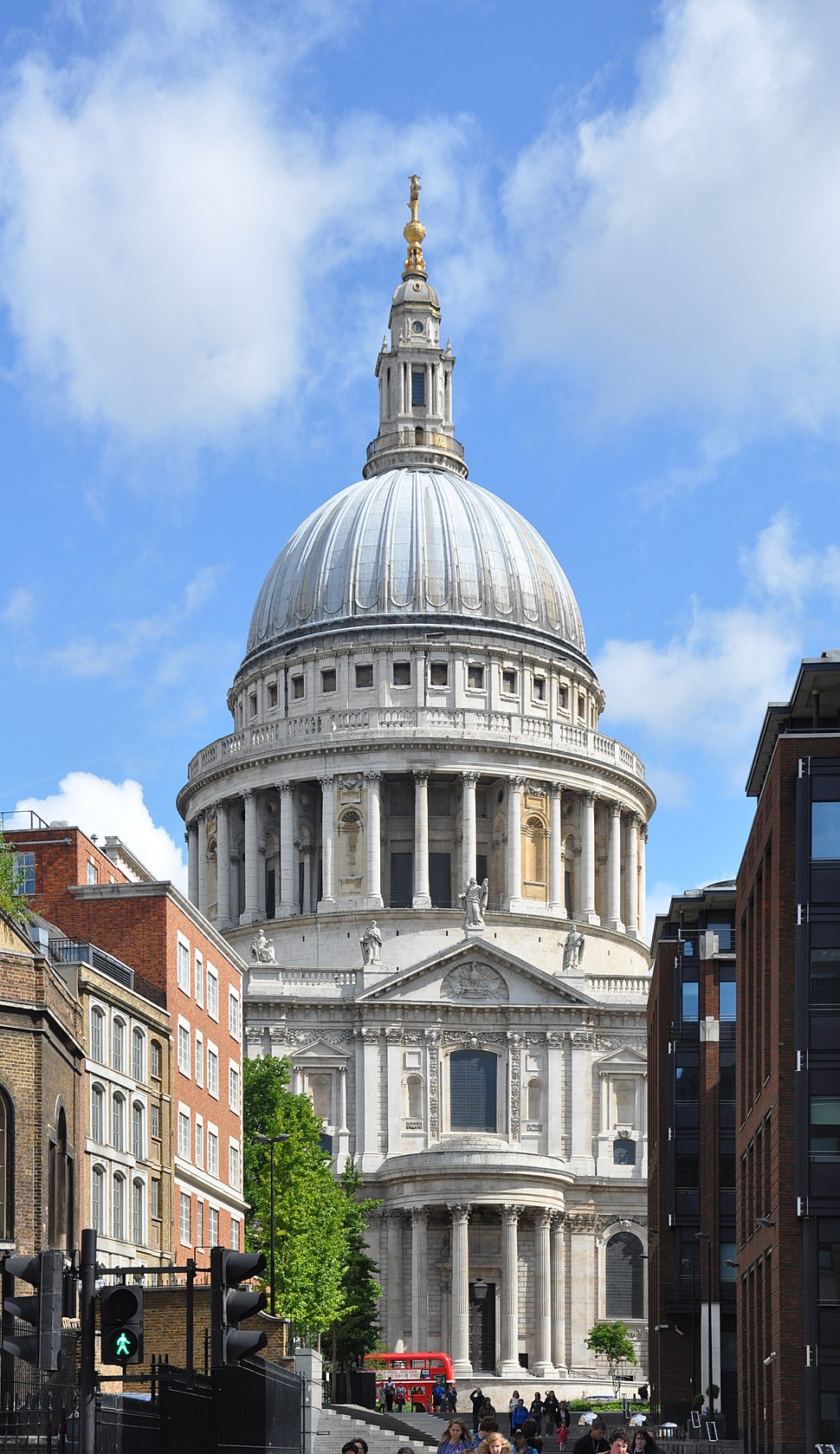 South facade of St Paul's Cathedral 2011 1
