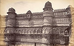 Southern facade of the- Man Mandir Palace, -Gwalior-.jpg