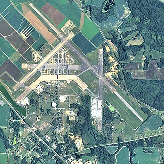 Spence Air Base - 2006 USGS airphoto