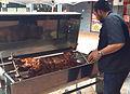 Spit Braai - Lamb on a spit 01.jpg