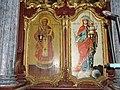 Srpska pravoslavna crkva u Međi - Sv. Nikola i Bogorodica sa Hristom.jpg