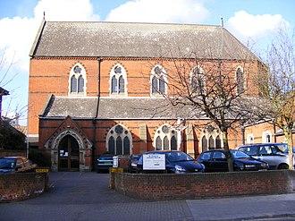 St Pancras Church, Ipswich - Image: St.Pancras Catholic Church, Ipswich geograph.org.uk 1193302