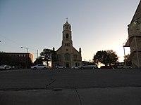 St. Joseph's Church and Parochial School Hays Kansas 5-7-2014.jpg
