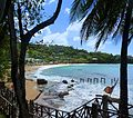 St. Lucia, Karibik - Beach at the Sandals Regency - panoramio.jpg