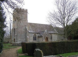 Buscot - Image: St. Mary's Church, Buscot geograph.org.uk 341334