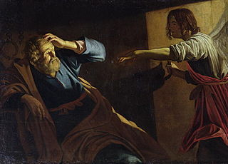 St. Peter's release from prison by the angel