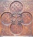 St. Veit Pfarrkirche - Gotische Tür 2 Neogotisches Blatt.jpg