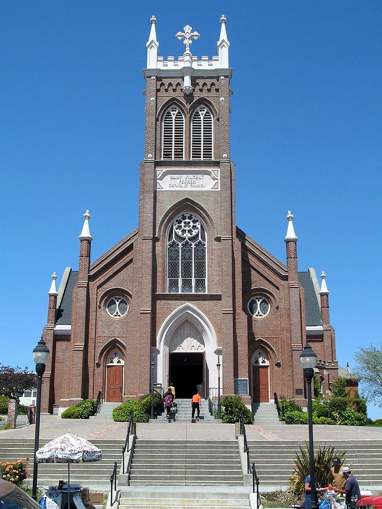 File St Vincent Ferrer Catholic Church 925 Sacramento St