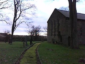 Newbiggin-by-the-Sea - The disused Church of St Mary the Virgin, Woodhorn