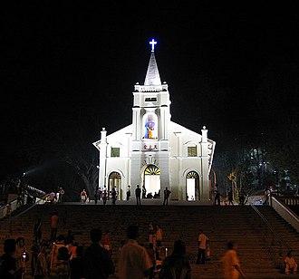 St. Anne's Church, Bukit Mertajam - St. Anne's Shrine