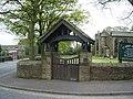 St John's Church, Bradshaw, Lych gate - geograph.org.uk - 1270192.jpg