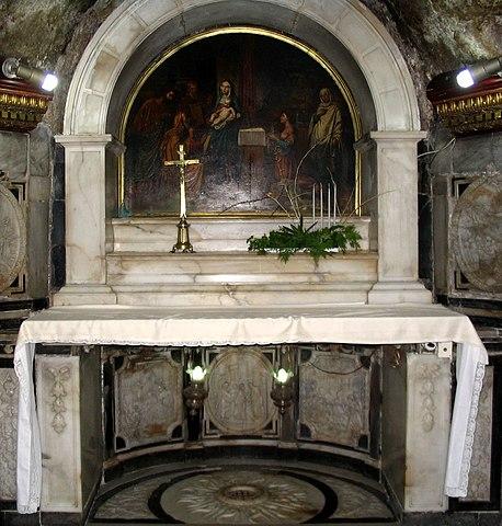Место рождения Иоанна (монастырь Святой Иоанн на го́рах)