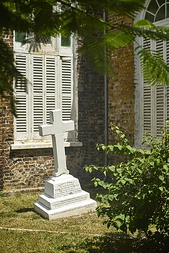 Henry Holme - Henry R. Holme memorial in the garden of St. John's Cathedral, Belize City