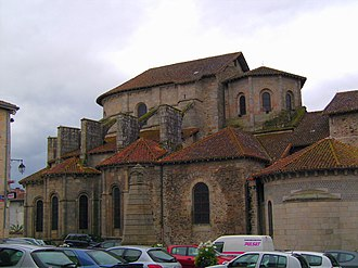 Leonard of Noblac - The Romanesque church of St Leonard in Saint-Léonard-de-Noblat, Haute-Vienne