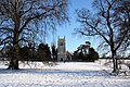 St Mary's Church, Ickworth, in the snow - geograph.org.uk - 1628843.jpg