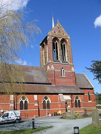 St Mary's Church, Wythall - Image: St Mary's Church, Wythall geograph.org.uk 151846