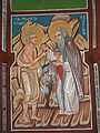 St Mary from Egypt and St Zosimus Fresco in the church of St Nicholas in Mramorec.jpg