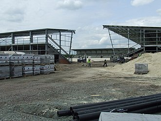 St Mirren Park - View of the stadium during construction
