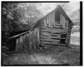Stable, north elevation - Trump-Lilly Farm, Hinton, Summers County, WV HABS WVA,45-HINT.V,1-32.tif