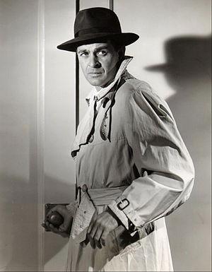 Stacy Harris - Harris as Doug Carter in Doorway to Danger, 1953.