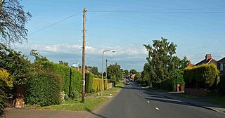 Staincross Village in South Yorkshire, England