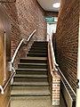 Stairwell, Sylva First United Methodist Church, Sylva, NC (45724738345).jpg