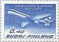 Stamp of Finland - 1963 - Colnect 46427 - Aircraft Sud Aviation SE 210 Caravelle.jpeg