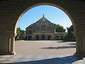 Stanford University Quad Memorial Church