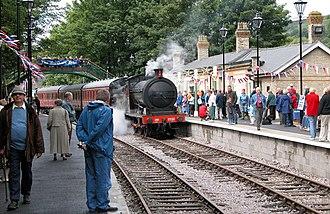 Weardale Railway - Stanhope Station, 2004