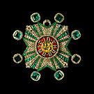 Star bavarian Order of Saint Hubert Schatzkammer Residenz Munich.jpg