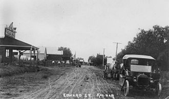 Kalbar, Queensland - Edward Street in the 1920s