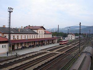 Austrian Northwestern Railway - Station Ústí n.L.-Střekov