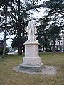Statue Laurent Cerise - jardin public Aoste.JPG