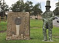 Statue of Brunel and memorial - Saltash - geograph.org.uk - 1399367.jpg