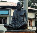 Statue of Gandhiji Ernakulam.JPG