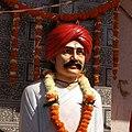 Statue of Naik Raghoji Rao Bhangre in Akola, Maharashtra.jpg