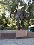 Statue of Valery Chkalov in Dnipropetrovsk 02.JPG