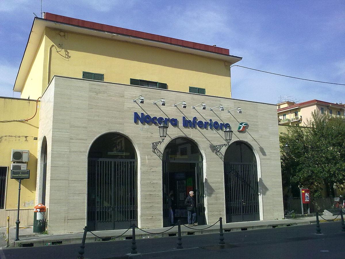 Stazione di Nocera Inferiore - Wikipedia