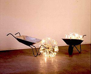 Stephan Huber - Arbeiten im Reichtum 3 und 7, Hamburger Kunsthalle, 1983