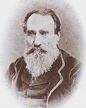 En ældre mand med et storslået hvidt skæg